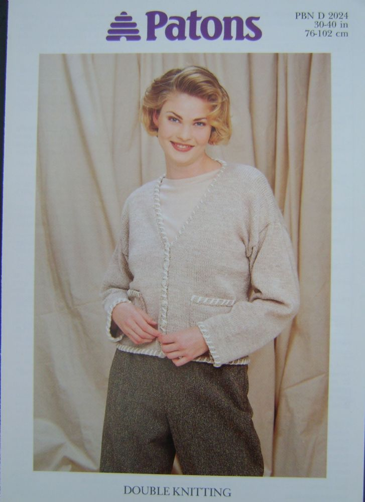 Patons Knitting Pattern 2024